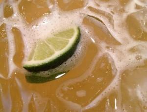 Margarita drink on the rocks