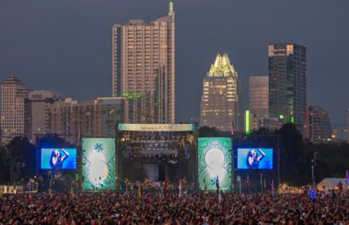 Austin City Limits festival goers