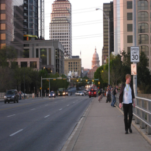 Austin downstream Congress Avenue