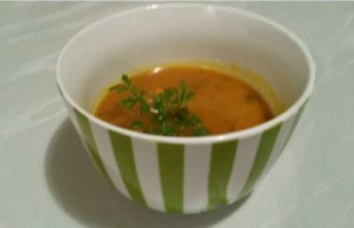 Thai Vegan pumpkin soup